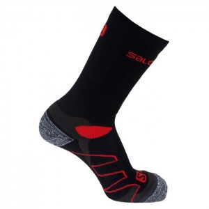 MEIAS KONDOR2 BLACK-RED