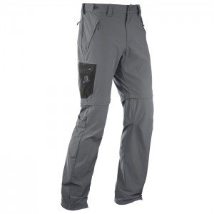 WAYFARER ZIP PANT FORGED IRON