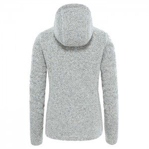 CRESCENT HOODIE PULLO W VINTAGE WHITE HEATHER