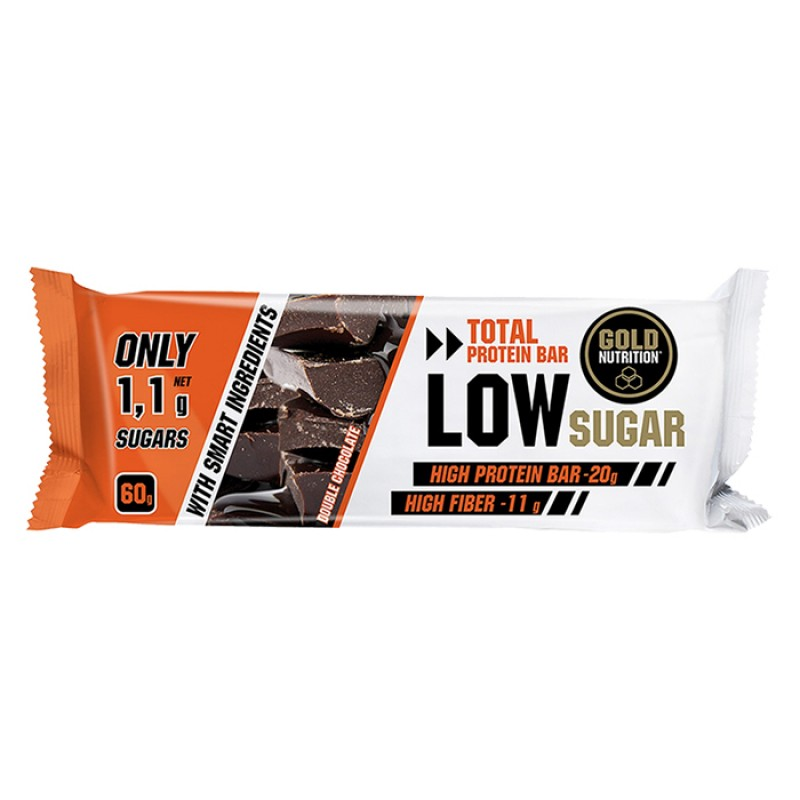 TOTAL PROTEIN BAR LOW SUGAR DOUBLE CHOCOLATE