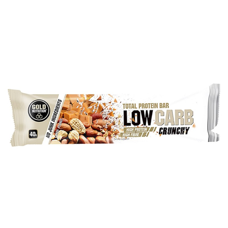 TOTAL PROTEIN BAR LOW CARB CRUNCHY SWEET PEANUT