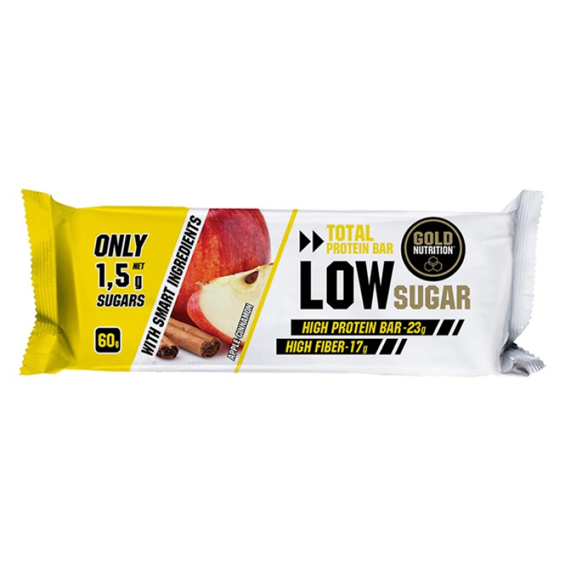 TOTAL PROTEIN BAR LOW SUGAR APPLE AND CINNAMON