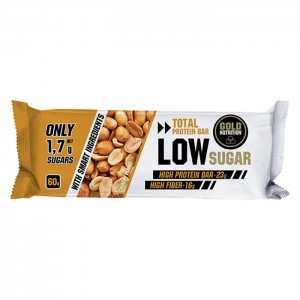 TOTAL PROTEIN BAR LOW SUGAR CRUNCHY PEANUT