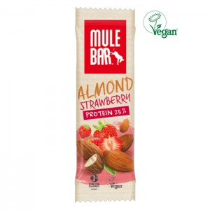 MULEBAR VEGAN PROTEIN ALMOND AND STRAWBERRY
