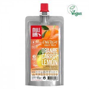 FRUIT PULP VEGAN ORANGE, CARROT AND LEMON