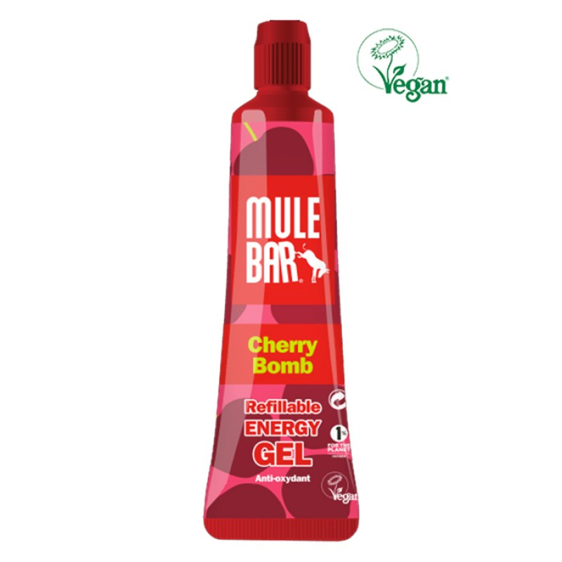 MULEBAR GEL VEGAN CHERRY BOMB